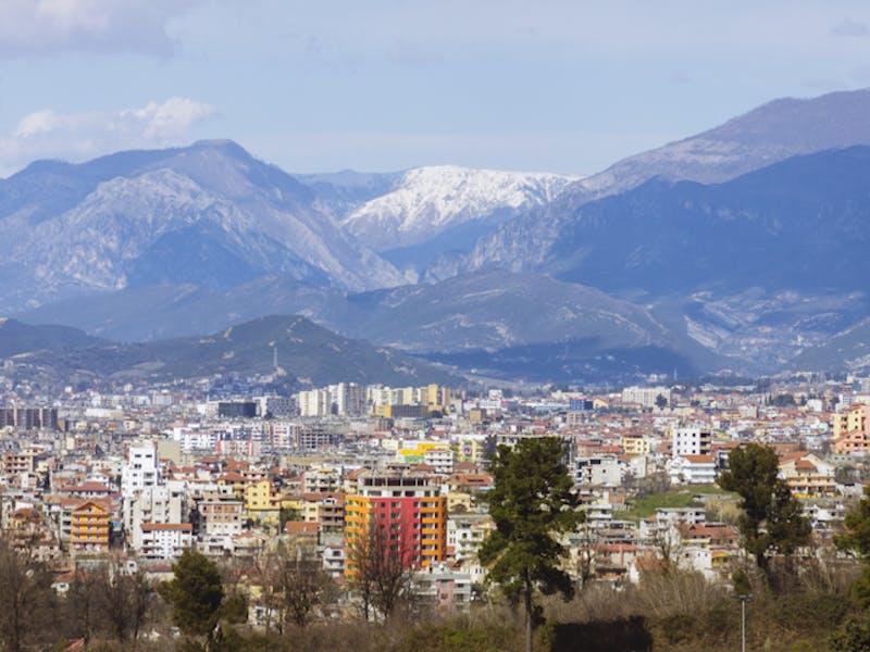 Albania hovedbilde Tirana