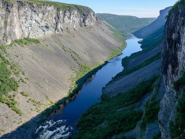 Sautso - Nord Europas største canyon i Alta - Foto: Getty Images