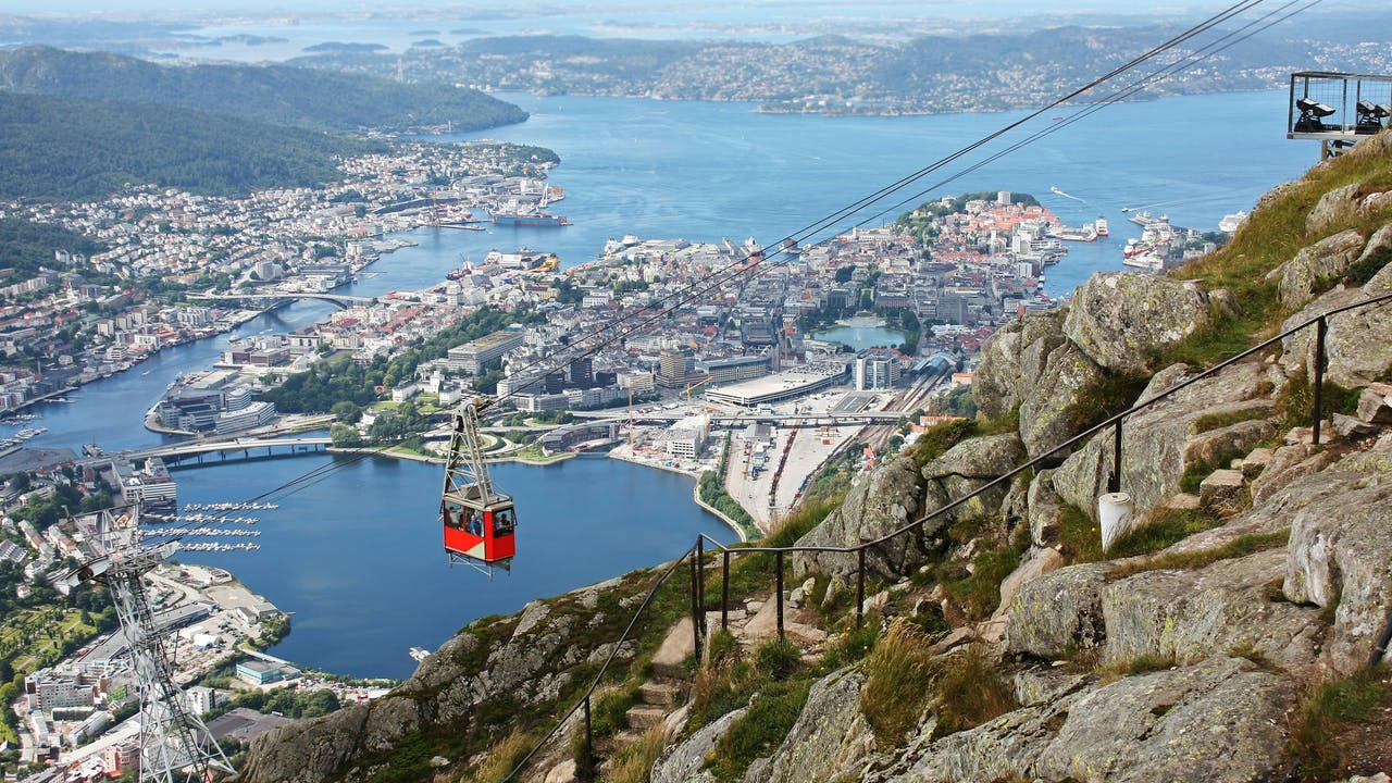Bergen med barn - 4 tips til ting å gjøre