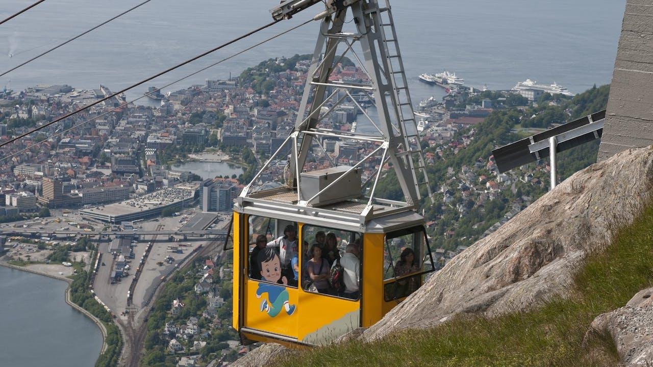 Bergen - 4 tips til aktiv ferie