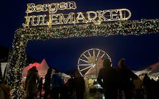 Bergen - julemarked i pepperkakebyen
