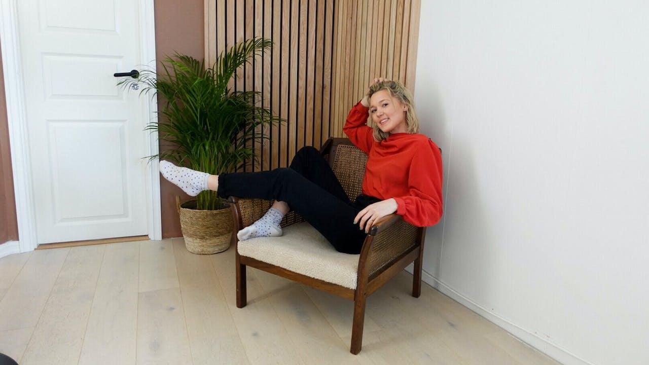 Hvordan trekke om stol?