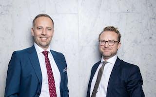 Christian V. Dreyer og Erik Lundesgaard