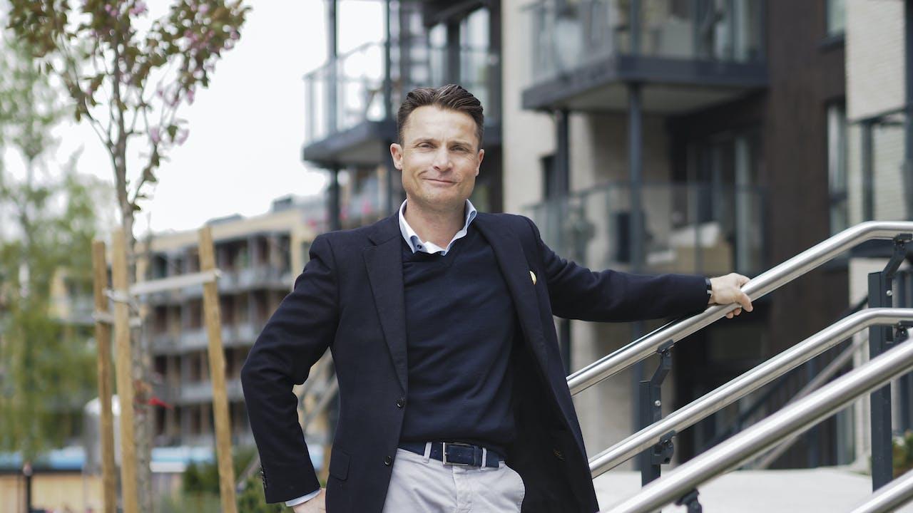Karl Stenstadvold, salgsdirektør i FINN eiendom