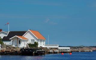 Hytte ved sjøen