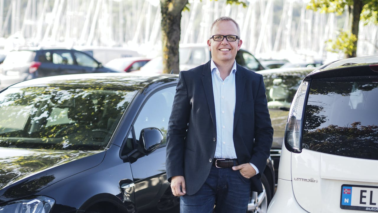 Eirik Håstein, produktdirektør i FINN motor