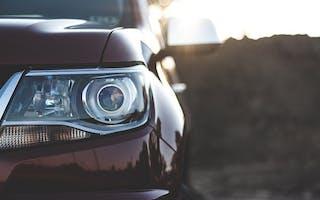 Frontlykt bil
