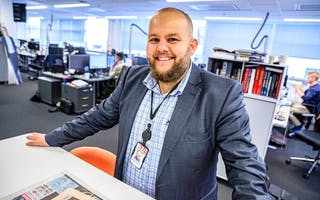 Gard L. Michalsen, sjefredaktør i E24