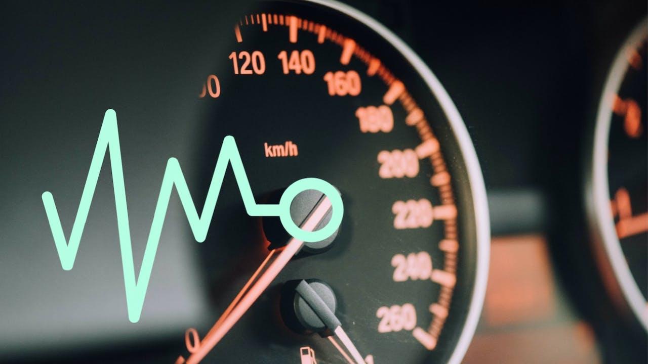 Speedometer bil