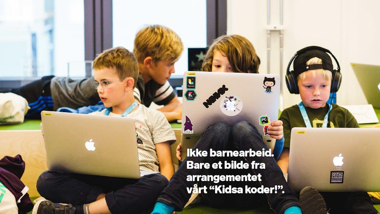 Ikke barnearbeide