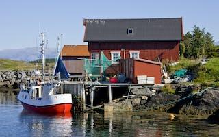 Øyhopping langs Helgelandskysten