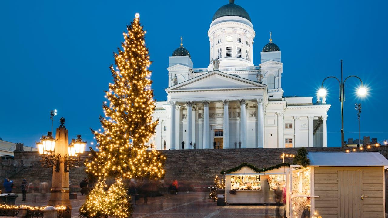 Opplev julemarkedene i Helsinki - julenissens hjemland
