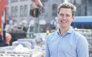 Christopher Ringvold er jobbanalytiker og produktdirektør på FINN jobb. uktdirektør for FINN jobb (Foto: Caroline Roka/FINN).