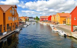Kristiansand fiskebrygga Getty 1131408436