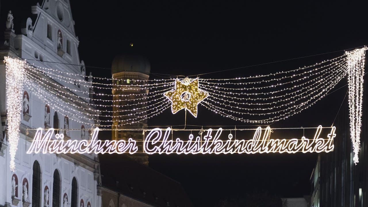 Opplev julemarkedene i München
