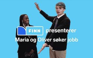Maria og Oliver søker jobb for første gang