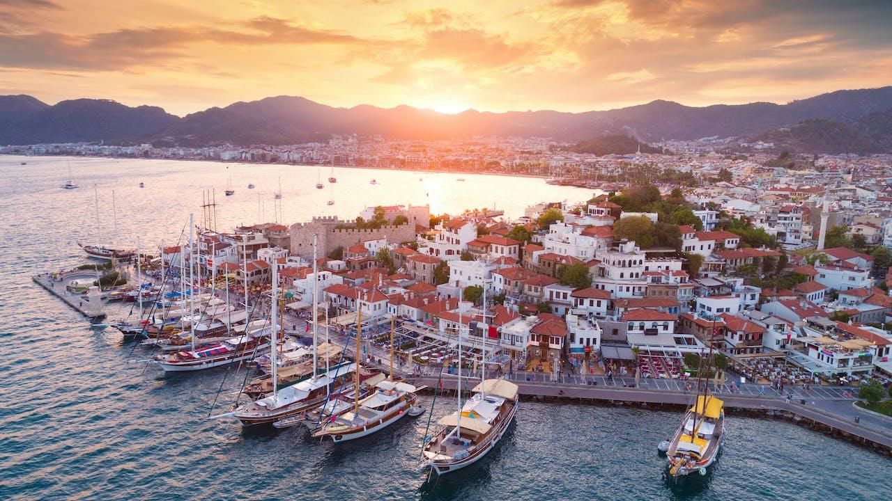 Marmaris reisetips – populær ferieby i Tyrkia