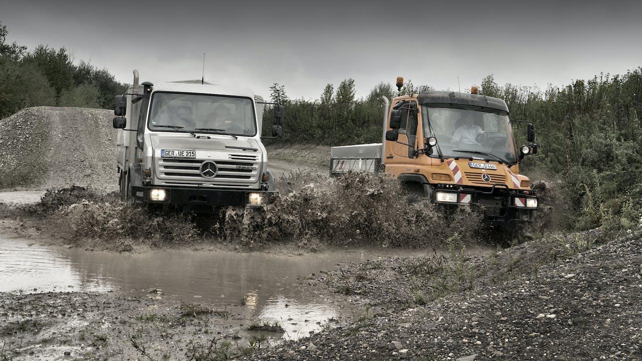 Mercedes - G-klasse - en klasse for seg