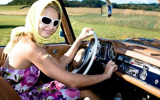 Mercede roadster - Kongen av cabriolet
