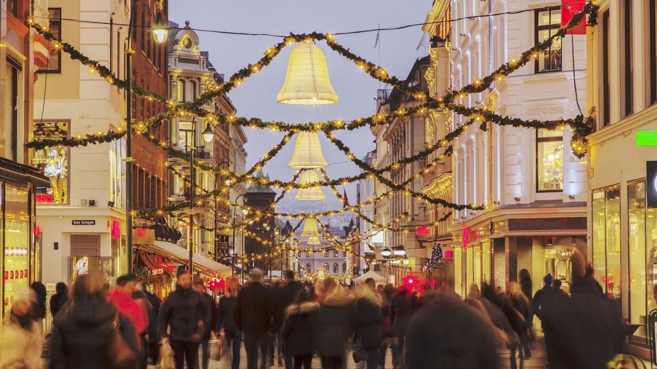 Opplev julemarkedene i Oslo
