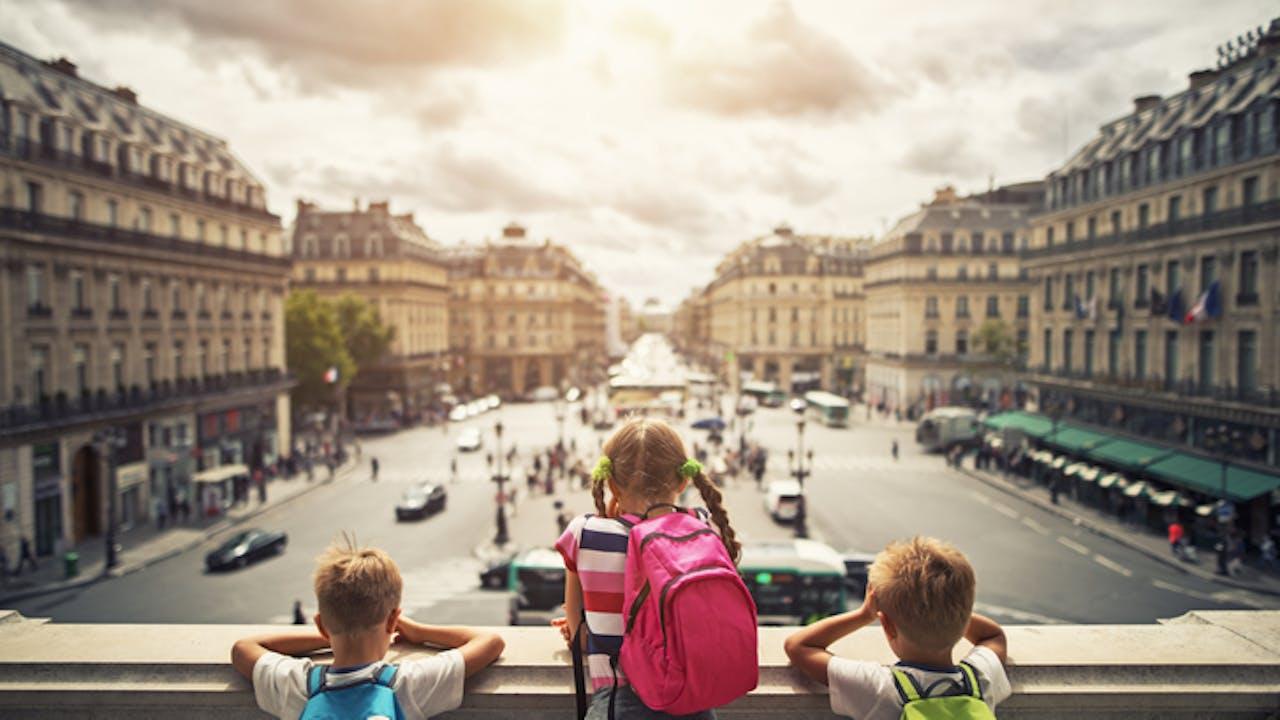 Bilde av storbyferie med barn i Paris