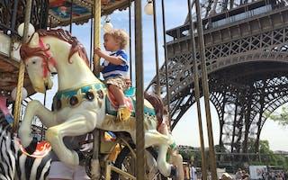 Paris med barn - 4 tips til ting å gjøre
