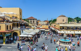 Rhodos gamleby - en vakker middelalderby