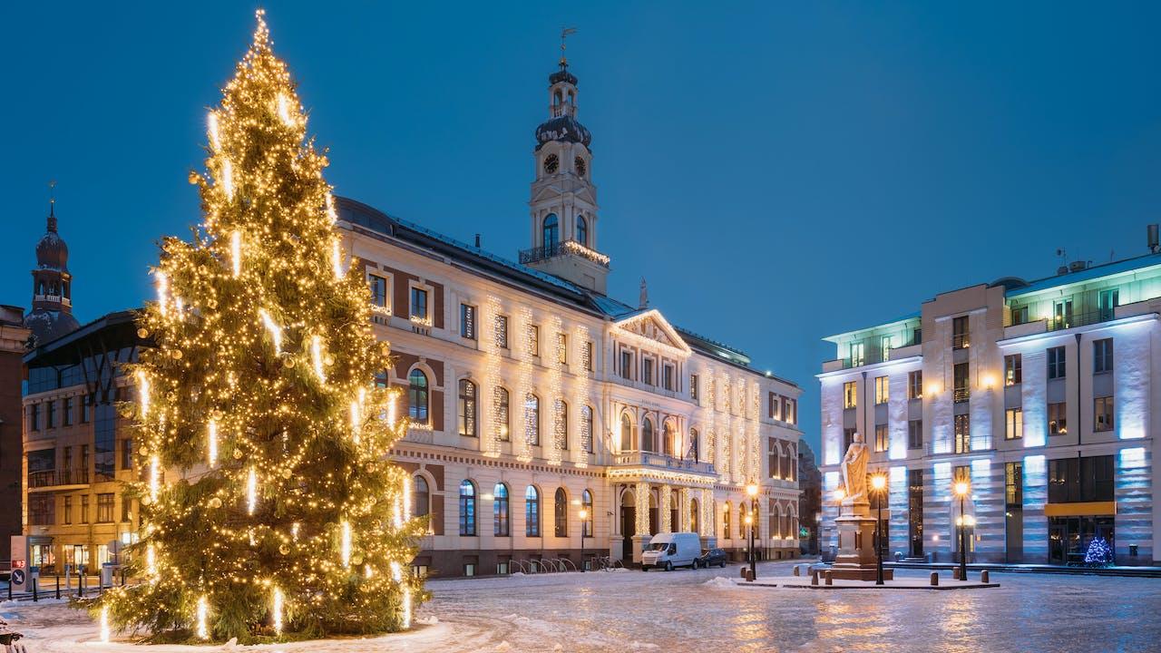 Opplev det flotte julemarkedet i Riga