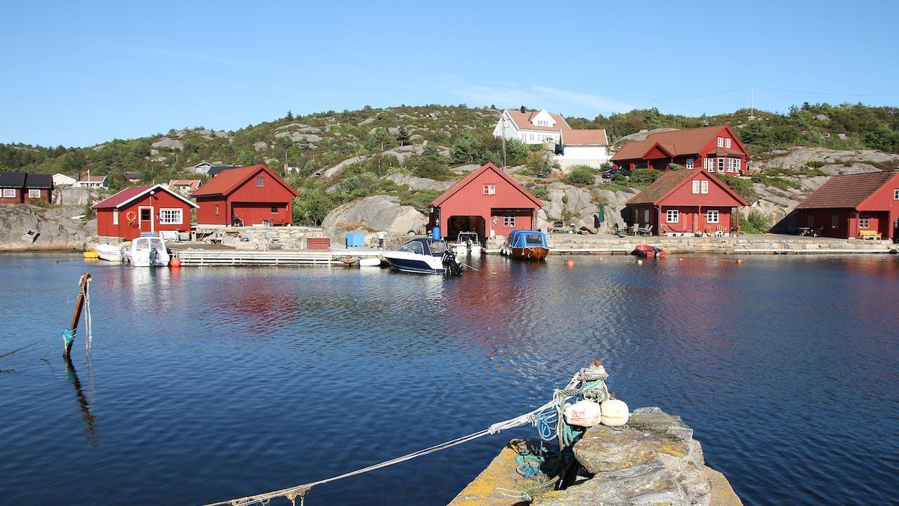Tips til sykkelferie langs Sørlandskysten