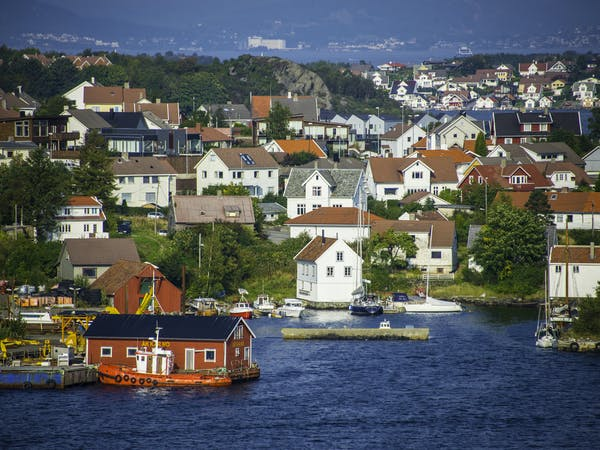 Bilde av idylliske Stavanger