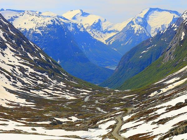 Gamle Strynefjellsvegen, Nasjonal turistveg