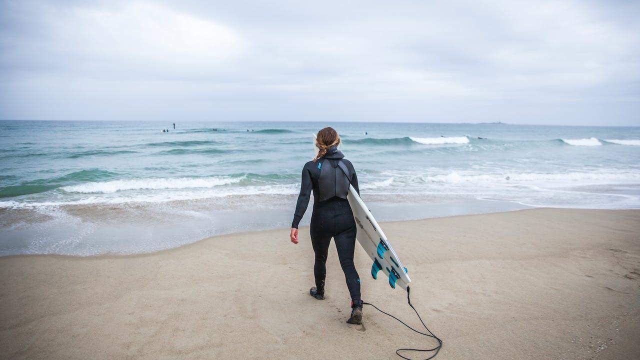Prøv surfing på Jæren!