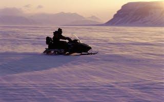 Svalbard snøscootersafari