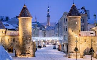 Tallinn - opplev julemarkedet i Estlands hovedstad