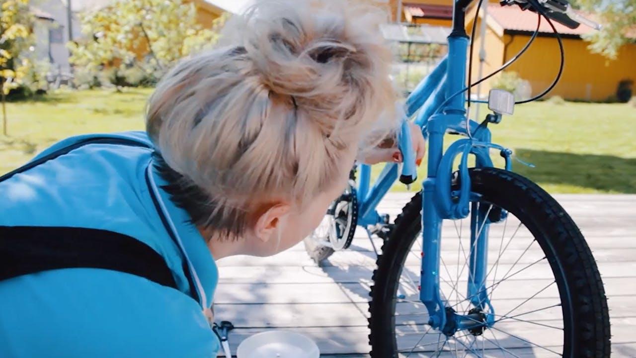 Pynt opp barnesykkelen!