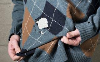 Hvordan unngå møllspiste klær?