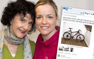 Unni Lindell hjalp Kristin å få fart på sykkel-salget