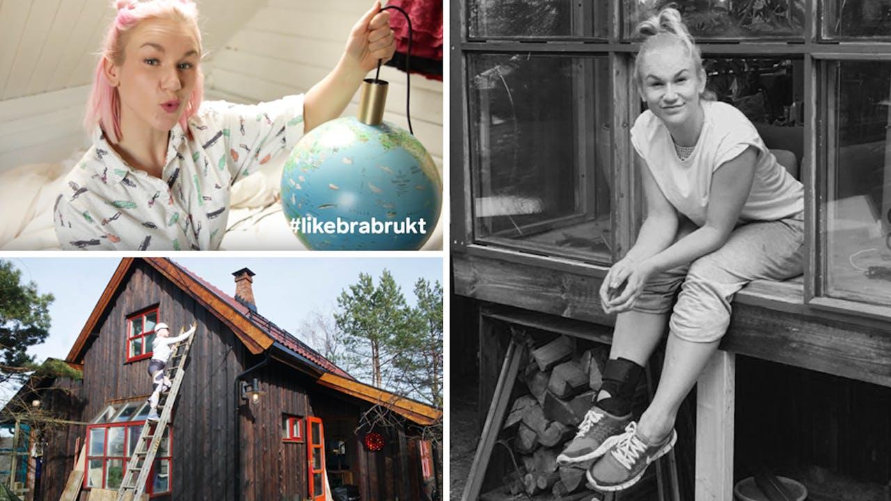 Da Christina ble dumpa, byttet hun det trygge livet i byen med et falleferdig hus på landet