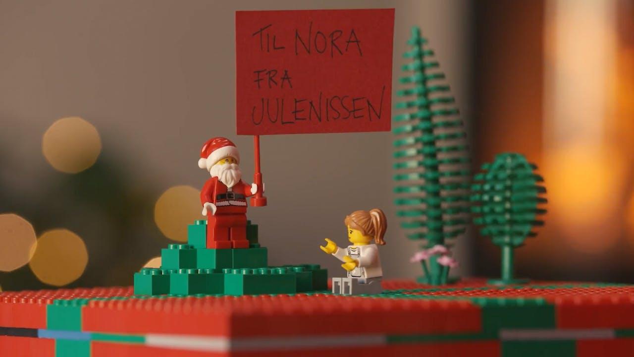 Innpakking av julegaver: Ingen emballasje - bare LEGO