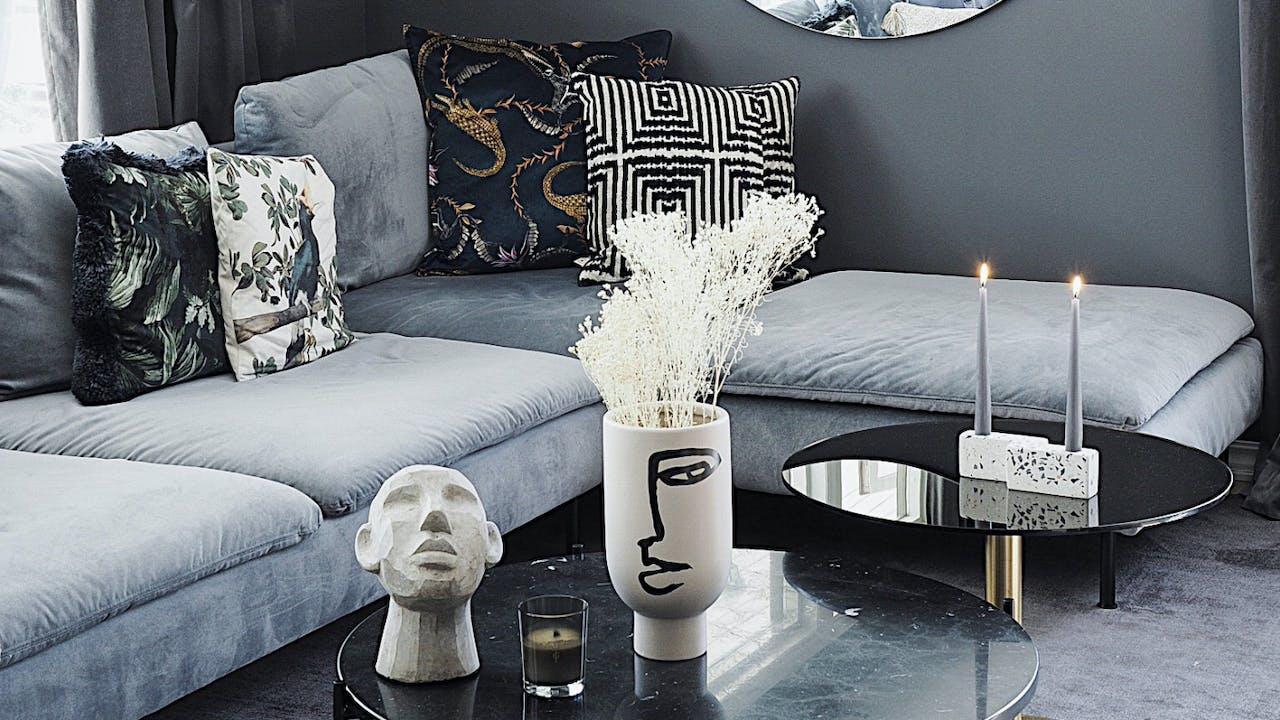 Så enkelt blir en brukt sofa som ny
