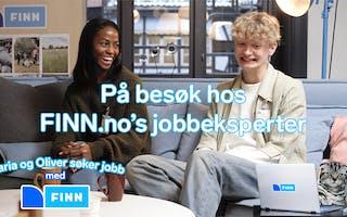 Episode 2: Maria og Oliver søker jobb: Søknad og CV