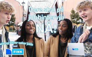 Episode 3: Maria og Oliver søker jobb: Jobbintervju
