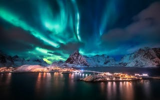 Opplev nordlyset i Lofoten og Vesterålen